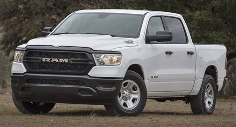 2019 Ram 1500 Tradesman Is A No Frills Work Truck Carscoops