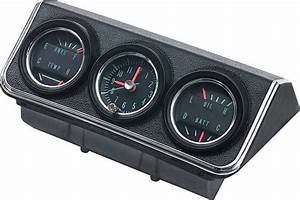 1967 Camaro Firebird Console Gauges Assembly Oer