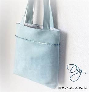 Apprendre à Coudre à La Main : un joli sac cabas et des paillettes diy les lubies de louise ~ Melissatoandfro.com Idées de Décoration
