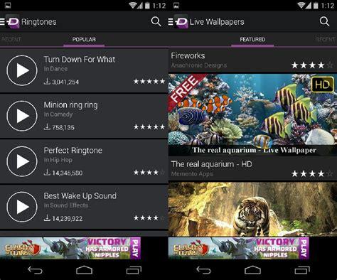 la carte ringtones  wallpapers  android  zedge
