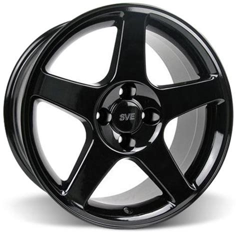 Mustang 4 Lug 03 Cobra Style Wheel  17x9 Black (7993