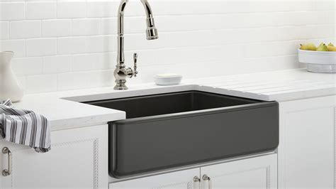 Apron Sinks Stainless Steel by Learn About Toe Kicks Goosenecks And Other Cool Kitchen