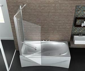 Pare Baignoire D Angle : paroi de baignoire en angle union 80 ~ Melissatoandfro.com Idées de Décoration