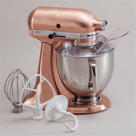 custom metallic  qt stand mixer ksmps copper kitchen aid kitchen aid mixer copper kitchen