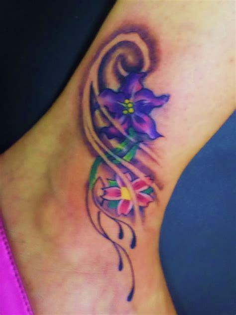 flower ankle tattoo tattoos pinterest ankle tattoos