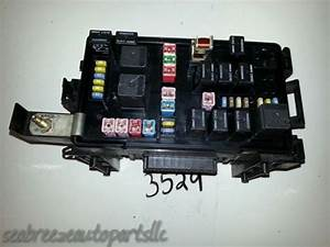 2007 07 Dodge Charger Fuse Box Integrated Power Module