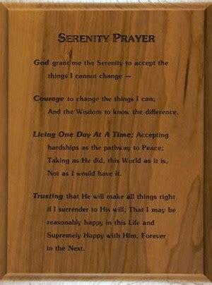 serenity prayer wood plaque serenity prayer wall hanging