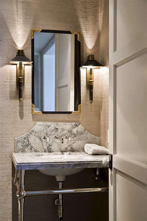 powder room mirror powder room powder room vanity with curved marble backsplash