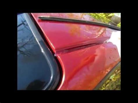 Acura Integra Water by Acura Integra Roof Molding Removal Water Leak Part 5
