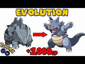 Pokemon Rhyhorn Evolve Images | Pokemon Images
