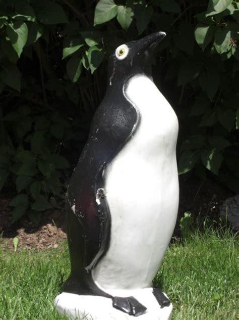 penguin lawn ornament
