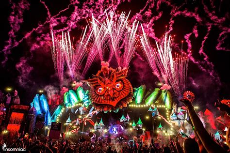 years dancing history electric daisy