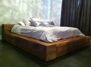 Lit Maison Bois : lit en bois deco maison pinterest ~ Premium-room.com Idées de Décoration