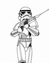 Drawing Stormtroopers Stormtrooper Getdrawings sketch template