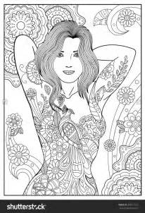 642 best coloriages girly images on Pinterest | Coloring