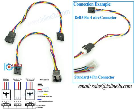 cpu fan adapter cable 4 pin pwm to dell proprietary 5 pin end 5 28 2019 2 31 am