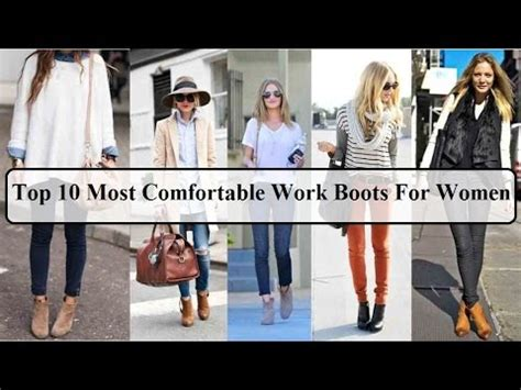 Work Boots For Women  Top 10 Most Comfortable Work Boots