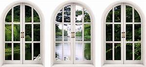 wall decal faux window wall decal for home window With faux window wall decal for home