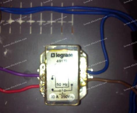 forum electricite probleme remplacement telerupteur
