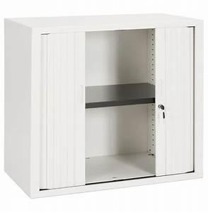 Petite Armoire Blanche : petite armoire de bureau classify blanche armoire rideaux ~ Teatrodelosmanantiales.com Idées de Décoration