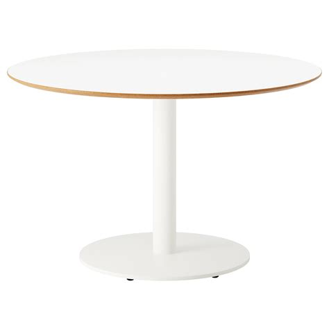table cuisine ronde ikea billsta table white white 118 cm ikea