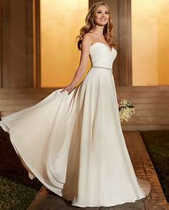 casual wedding dress taffeta ivory empire bridal party With women s wedding dresses casual