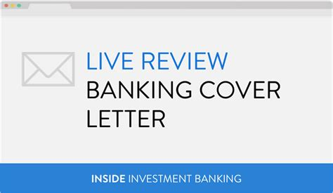 Cover Letter Investment Banking by Cover Letters Inside Investment Banking