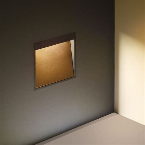 exterior recessed wall lights