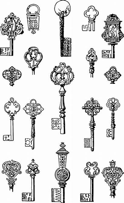 Clip Keys Vector Printable Graphics Key Clipart
