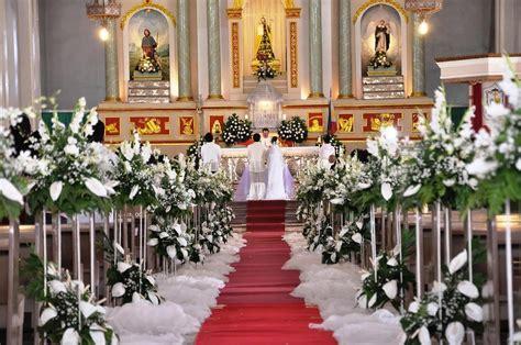 altar wedding decor church wedding altar decoration ideas reception Church