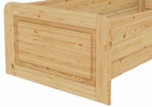 Extra Hohes Bett : or seniorenbett massivholz 90 x 200 cm extra hohes bett seniorenbetten ~ Markanthonyermac.com Haus und Dekorationen