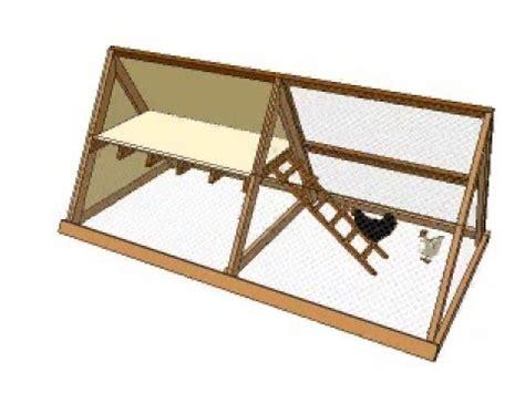 a frame plans a frame chicken coop plans