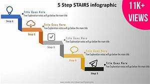 5 Create 5 Step Stairs Infographics  Powerpoint