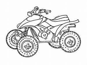 Dessin Jaguar Facile : quad vtt transport coloriages imprimer ~ Maxctalentgroup.com Avis de Voitures