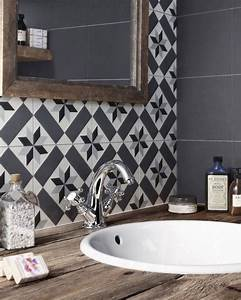 15 idees deco avec des carreaux de ciment white tiles With carreau deco