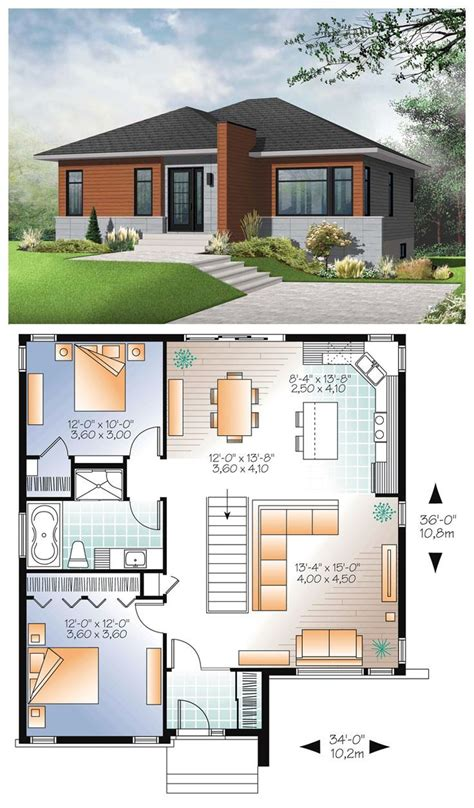 awesomely simple modern house plans modern style house plans modern bungalow house small