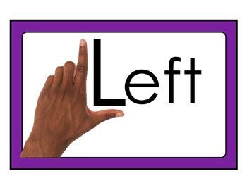 left hand  hand reference posters  easy peasy