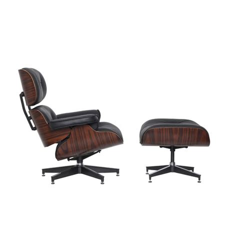 milan direct eames premium replica lounge chair ottoman