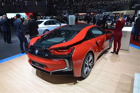 red bmw 2016 geneva 2016 bmw i8 protonic red edition gtspirit