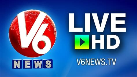 News Live Tv v6 telugu live news channel v6 live tv