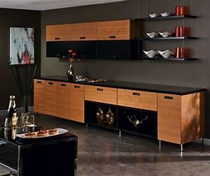 Bamboo Kitchen Cabinets in Natural Finish - Kitchen Craft