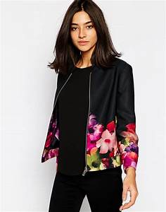 Blazer Femme Fleuri : populaire veste femme imprim fleuri ja34 montrealeast ~ Melissatoandfro.com Idées de Décoration