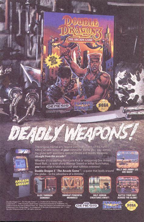 Double Dragon Sega Genesis Game Genie Armenload