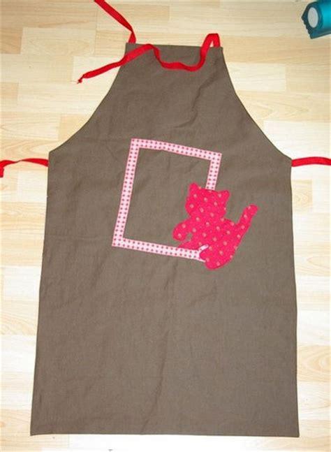 tablier de cuisine patron gratuit tablier réversible en tissu patron couture gratuit