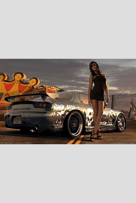 Need for Speed Prostreet Girl Wallpaper | HD Car Wallpapers | ID #1753