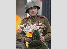 VE Day parade in Moscow snubbed by British as Vladimir