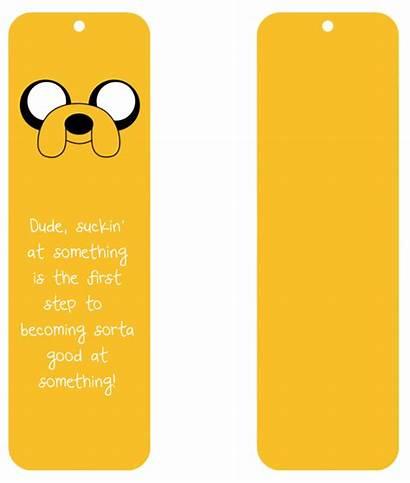 Adventure Bookmark Jake Dog Winged Bullet Bookmarks