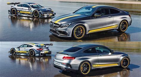 mercedes amg  coupe edition   dtm racecar