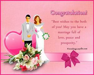 wedding congratulation messages wordings and messages With wedding cards sayings congratulations