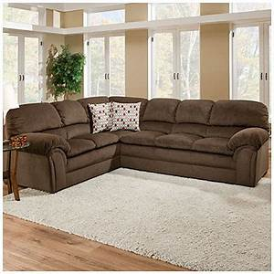 simmonstm bebop 2 piece chocolate sectional big lots With 2 piece sectional sofa big lots